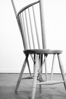 Detail, Rod-Back Side Chair (2013). Courtesy of Volume Gallery