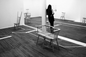 Wrong Chairs Exhibition, Volume Gallery. Chicago, Illinois (2014)