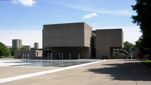 Everson Museum rear