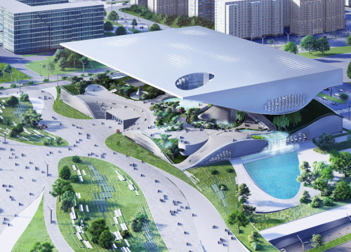 Xingtai Science and Technology Museum winning design