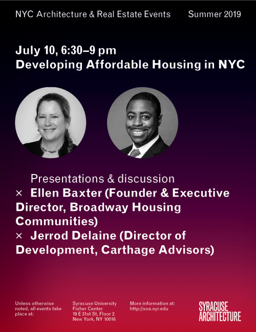 Developing Affordable Housing in NYC