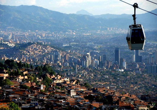 The city of Medellin, Colombia, has been rejuvenated through the work of a progressive mayor, his successors and a continuing collective of politicians, city administrators, urban designers, artists and architects, including School of Architecture Professor Francisco Sanin.